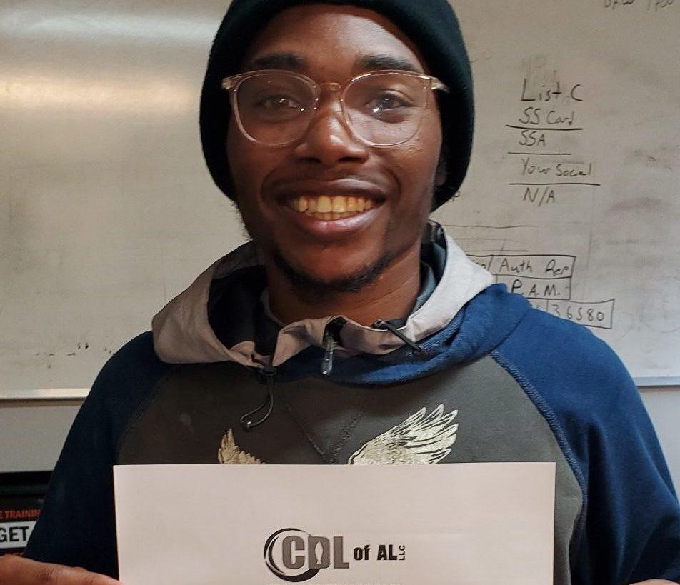 Terry Taylor, CDL of AL Graduate